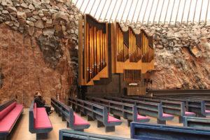 テンペリアウキオ(Temppeliaukion kirkko)教会
