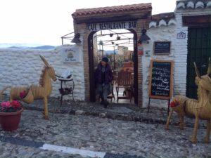 サンニコラス広場のレストラン
