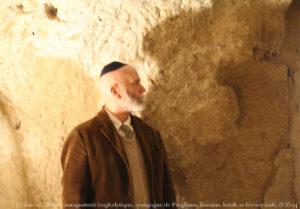 キッパを被ったユダヤ人