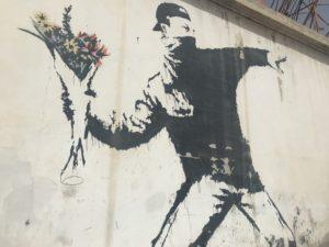 ベツレヘムのバンクシーアート