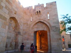 エルサレム旧市街のヤッフォ門
