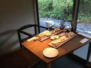 ばさら邸の朝食
