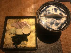志摩の海藻と地魚のしゃぶしゃぶ