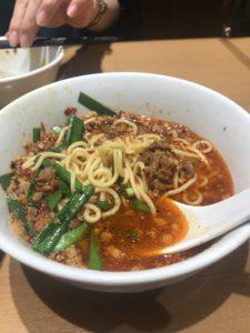 味仙の担々麺