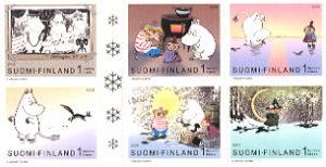 ムーミンの切手