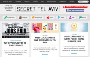 テルアビブのクラブ情報サイト