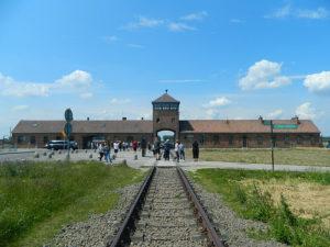 ポーランドのアウシュヴィッツ強制収容所