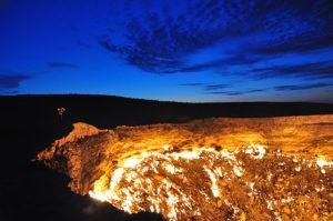トルクメニスタンの地獄の門