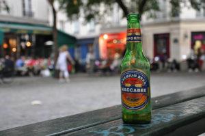イスラエルビール「MACCABEE」