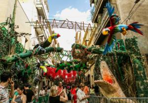 バルセロナのフェスティバル
