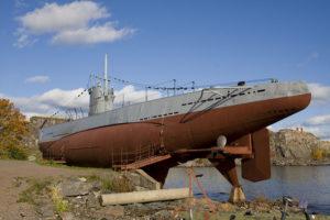 スオメンリンナ島の戦艦