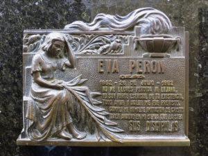 エビータ(またはエバ・ペロン)の墓