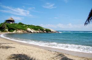 タイロナ国立公園のビーチ