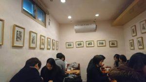「ソウルで二番目においしい店」の店内