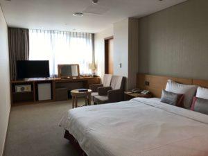 明洞PJホテルの部屋