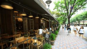 栢峴洞(ペッキョンドン)カフェ通り