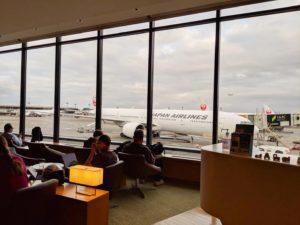 成田空港のさくらラウンジ
